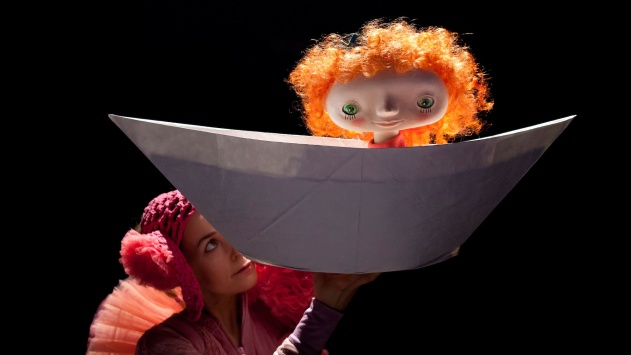 A Little Lamp, Pea and Feather, foto: Miha Fras