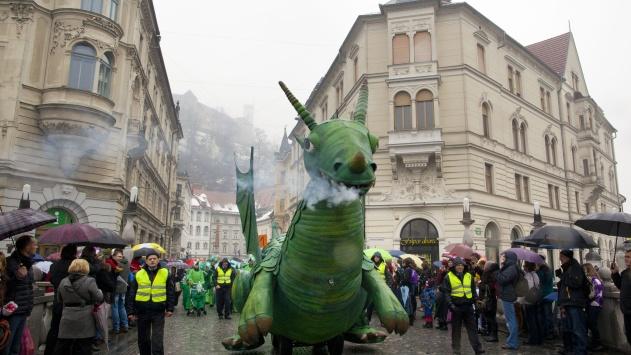 Zmajev karneval, foto Miha Fras